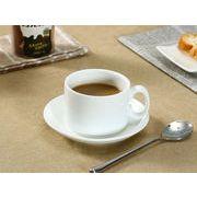 【強化】 コーヒーカップ&ソーサー (200ml-b)