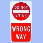 DO NOT ENTER トラフィックサインボード
