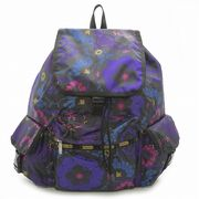 LeSportsac レスポートサック リュックサック VOYAGER BACKPACK  Midnight Flower Patch