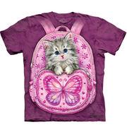 バックパック 仔猫 Tシャツ 【子供用】