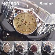 MontresCollectionユニセックス腕時計 メタルウォッチ 日本製高性能省電力ムーブ 電池寿命4年以上