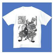 FJK 日本 お土産 Tシャツ 浮世絵 Sサイズ (ホワイト)No.25-S