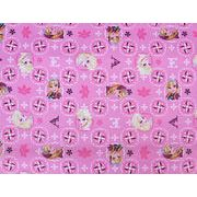 アナと雪の女王 生地 ピンク 15ヤード