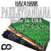 ★16カラー♪ HAV-A-HANK PISLEY BANDANA  12111