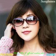 サングラス ハイグレードレトロ調デザインの女性用ファッションサングラス