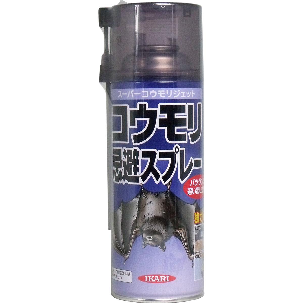 イカリ スーパーコウモリジェット コウモリ忌避スプレー 420mL