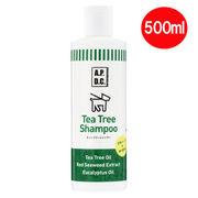 植物性ペット用シャンプー「A.P.D.C ティーツリーシャンプー 500ml」