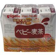ピジョン 紙パックベビー飲料 ベビー麦茶 125mL×3個パック
