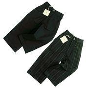ミニマスター 裾折デザインのフォーマルパンツ(濠Du)85-110cm