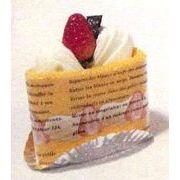 三角ショートケーキ ハンドタオル(香り付き)&ソフトフキン(オレンジ) tge0583551or【一個単位販売】