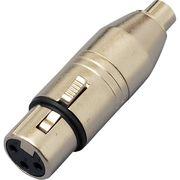 KC 変換コネクター XLR(F)/RCA(F) CA314 KC