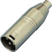 KC 変換コネクター XLR(M)/RCA(F) CA315 KC