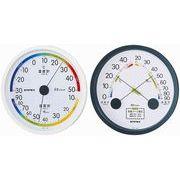《日本製》【シンプルタイプ】エスパス温・湿度計