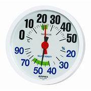 《日本製》【見やすく、わかりやすい】ルシード温湿度計