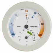 《日本製》【クールビズ・ウォームビズ省エネ温度表示】環境管理温・湿度計「省エネさん」