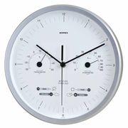 《日本製》【お天気予測・温湿度計付き掛け時計】スーパーEX晴天望機・1台4役