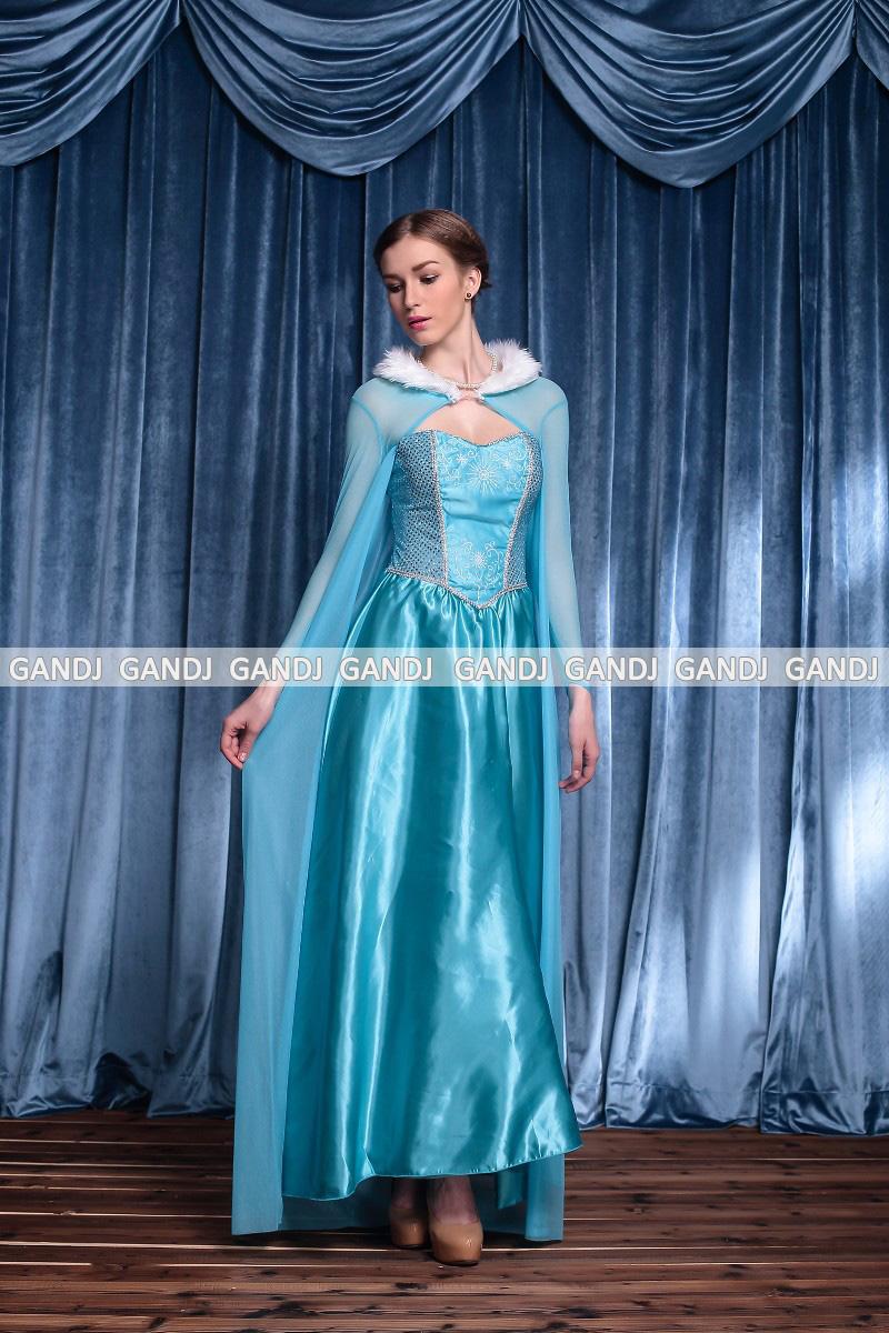 エルサ アナと雪の女王 ディズニー コスプレ ハロウィン ドレス 魔女 7796