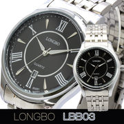 LONGBO メンズ 腕時計 LBB03