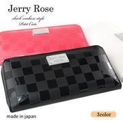 【JERRY ROSE】ジェーリーローズ レディース  ラウンド長財布 JRC-30R