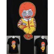 ドナ○ド? 悪人 パロディTシャツ 【PT-DGUNS】 メンズTシャツ / レディースTシャツ /キッズTシャツ
