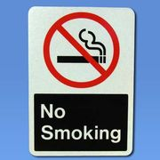 No Smoking トラフィックサインボード