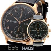 L'etoile レトワール  クロノグラフ搭載プレミアムモデル メンズ 腕時計 HA03