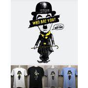 チャップリンでしょ!? パロディTシャツ 【PT-6018】 メンズTシャツ / レディースTシャツ /キッズTシャツ