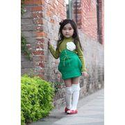 女の子らしい丸みのある形の可愛いスカート 綿100% 90cm~140cm