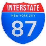 トラフィックサインボード NEWYORK 87 (L)