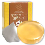 マヌカハニーSPソープ ※MGO400+の蜂蜜を使用