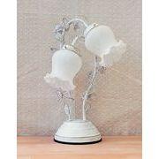 <AMANO>【ローズアームランプ・2灯タイプ】ホワイト