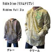 Riddim Driven (リジムドリブン)Riddims  ジップパーカー 2色展開