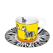 ドイツ・KONITZ Animal Stories Zebra エスプレッソカップ
