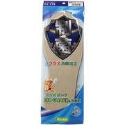 is-fit 制菌バイオガードインソール 男女兼用 ベージュ 22-28cm