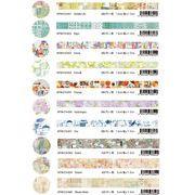 小径文化x夏米花園5段 マスキングテープ Shoukei 15mm x 10m straghit masking tape