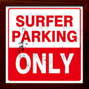 Иサインフレーム【Surfer Parking Only】