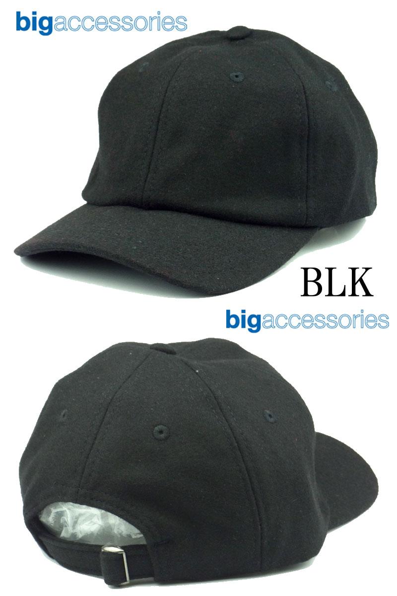 8077a389 Big Accessories Wool Baseball Cap - Parchment'N'Lead