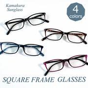 【TY2901】シンプル★細フレーム伊達メガネ【4色展開♪】 ユニセックス/眼鏡