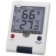 《特価品》【快適をランプでお知らせ】デジタルUD快適モニタ(デジタル温・湿度計)