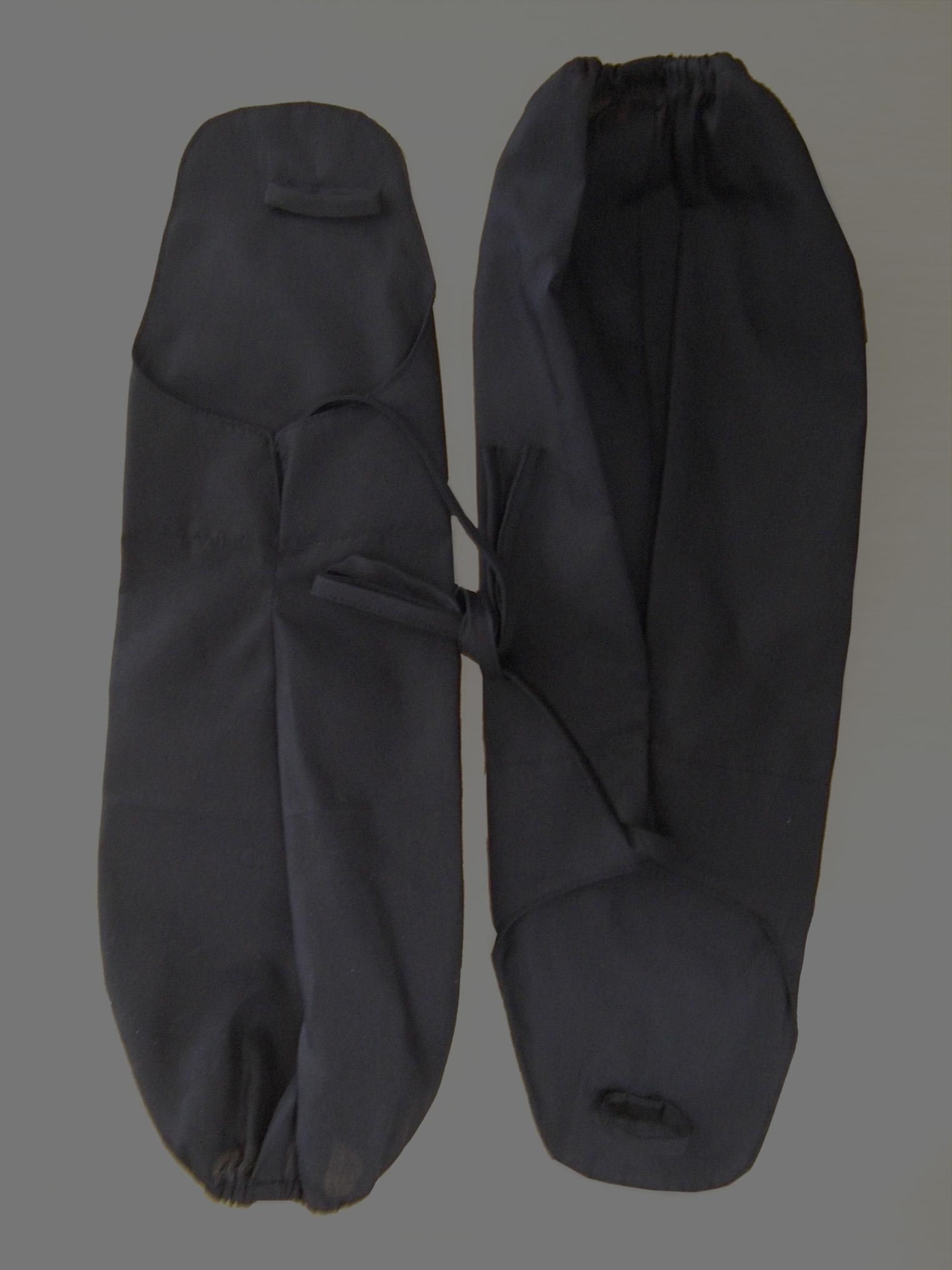黒手甲(ひも付き)