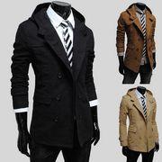 春コート  スプリングコート    メンズ男性   通勤ジャケット     ブルゾン紳士
