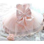 子供ワンピース キッズドレス ダンスドレス ノースリーブ ドレスワンピ 80-130cm