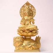 【仏像】 文殊菩薩座像