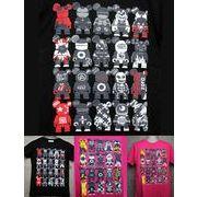ベアー ブロック パロディTシャツ 【PT-0842】 メンズTシャツ / レディースTシャツ /キッズTシャツ