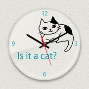 MYCLO 「アニマル」シリーズ時計 08 ねこちゃん イラストオリジナル 文字盤時計