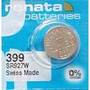RENATA 399 SR927W 0%Mercury *395 SR927SWと互換性あり ハイレートタイプ
