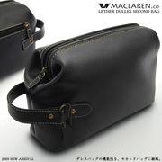 【MACLAREN.co】 『レザーダレスセカンドバッグ』牛革ソフトダレス AN-1002