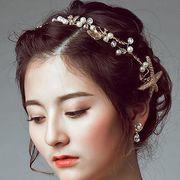 華やかな髪飾り アクセサリー 結婚式 花嫁 披露宴 パーティー