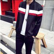 秋/運動スーツ/韓国風/メンズ/パーカー+パンツ2点セット/スプライス