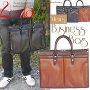 カジュアルがカッコイイ ビジネスバッグ ショルダー付き たっぷり収納 メンズ バッグ BAG◇TCN-3991